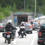 Въезд в тоннель Мунт Ла Шера со стороны Швейцарии (сс) Gio 2000