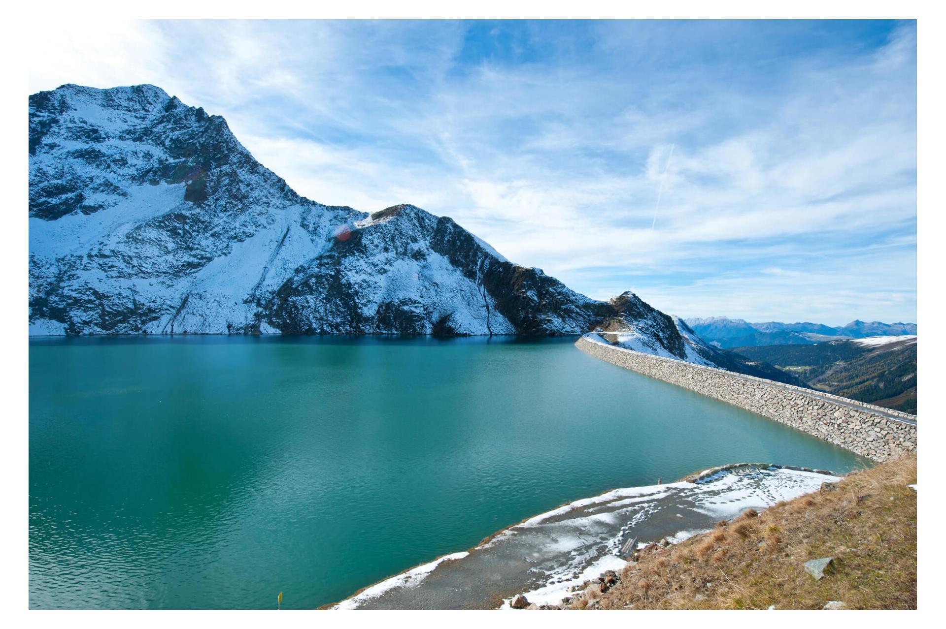 Озеро Speicher Finstertal.