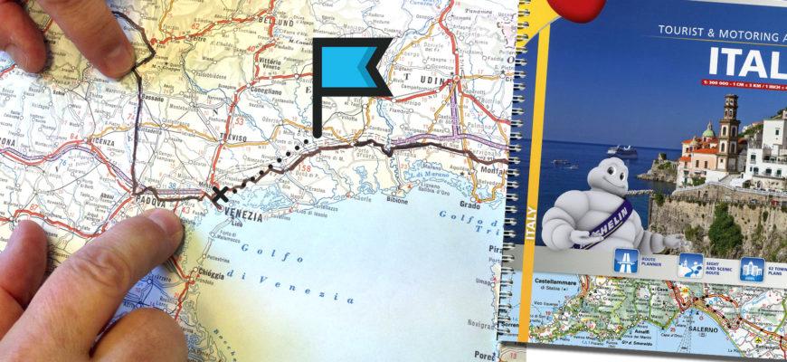 Атлас дорог Италии